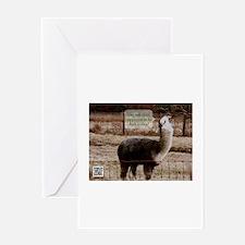 Clerks Drama Llama Greeting Card