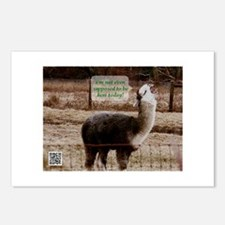 Clerks Drama Llama Postcards (Package of 8)