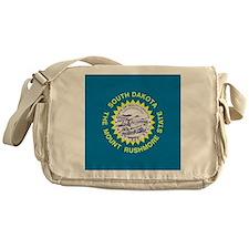 South Dakota Flag Messenger Bag