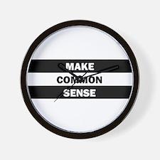 Make Common Sense Wall Clock