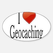I Love Geocaching Decal
