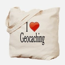 I Love Geocaching Tote Bag
