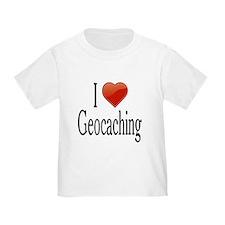 I Love Geocaching T