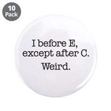 """After C 3.5"""" Button (10 pack)"""