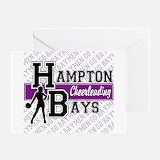 Hampton Bays Cheerleading Greeting Card