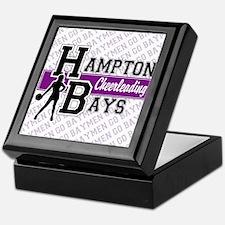 Hampton Bays Cheerleading Keepsake Box