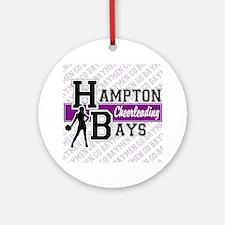 Hampton Bays Cheerleading Ornament (Round)