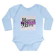 Hampton Bays Cheerleading Long Sleeve Infant Bodys