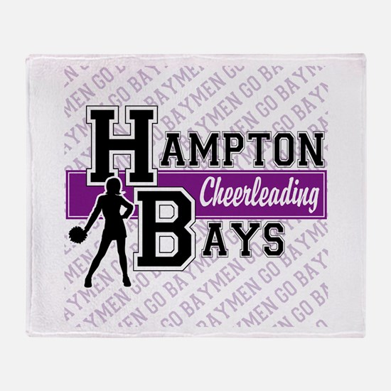 Hampton Bays Cheerleading Throw Blanket