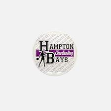 Hampton Bays Cheerleading Mini Button