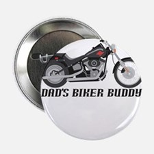 "Dad's Little Biker Buddy 2.25"" Button"