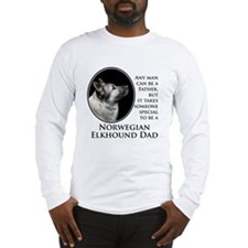 Elkhound Dad Long Sleeve T-Shirt