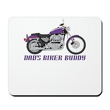 Dad's Little Biker Mousepad