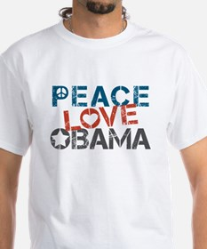 Peace Love Obama Shirt