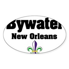 Bywater New Orleans Oval Decal