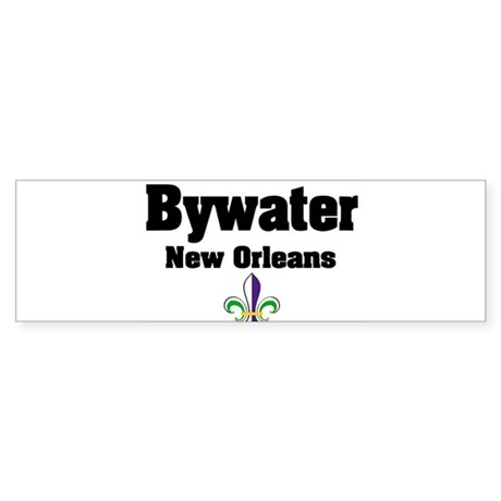 Bywater New Orleans Bumper Sticker