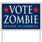 Vote Zombie Yard Sign 2
