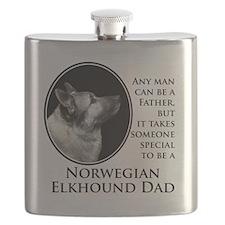 Elkhound Dad Flask