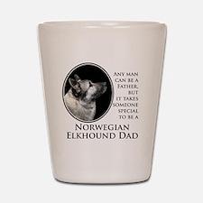 Elkhound Dad Shot Glass