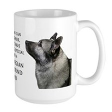 Elkhound Dad Ceramic Mugs