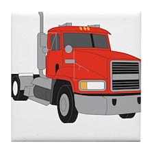 Little Mack Truck Tile Coaster
