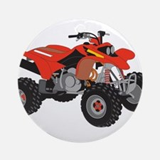 ATV Ornament (Round)