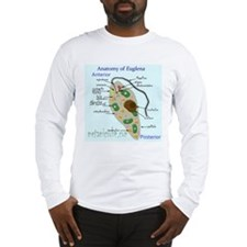 Generalized anatomy of Euglena Long Sleeve T-Shirt