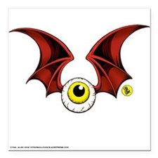 Flying Eyeball Fridge Magnet