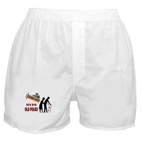 OBAMACARE FOR SENIORS Boxer Shorts