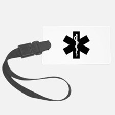 EMS Star of Life Luggage Tag
