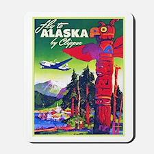 Alaska Travel Poster 5 Mousepad