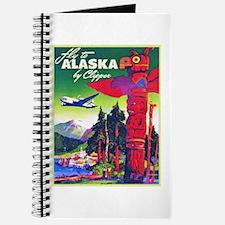Alaska Travel Poster 5 Journal