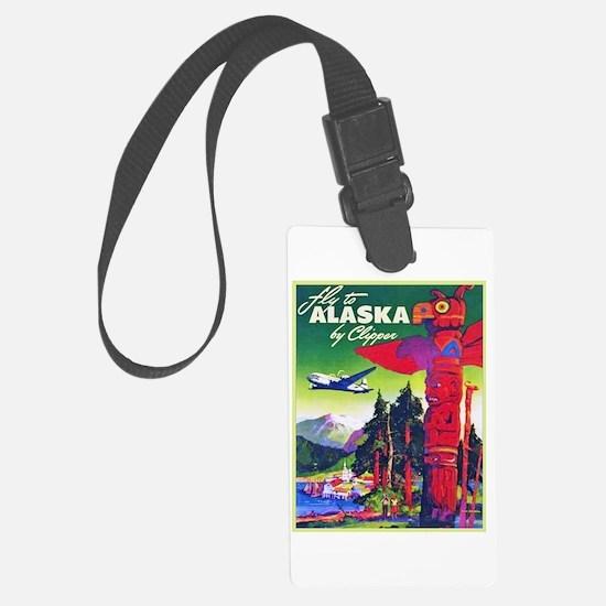 Alaska Travel Poster 5 Luggage Tag