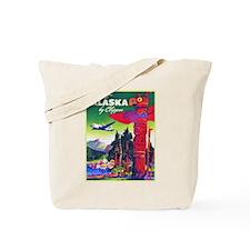 Alaska Travel Poster 5 Tote Bag