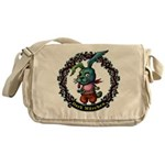 Dark Rabbit Messenger Bag
