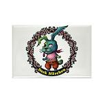 Dark Rabbit Rectangle Magnet (100 pack)