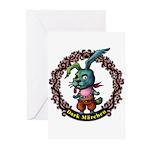 Dark Rabbit Greeting Cards (Pk of 10)