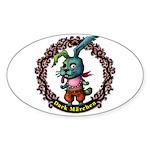 Dark Rabbit Sticker (Oval)