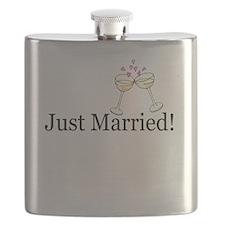 Cute Wedding toast Flask