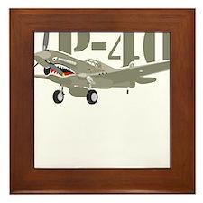 US P-40 Warhawk Framed Tile