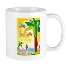 Los Angeles Travel Poster 2 Mug