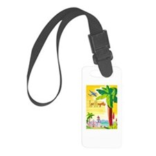 Los Angeles Travel Poster 2 Luggage Tag