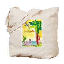 Los Angeles Travel Poster 2 Tote Bag