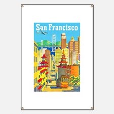 San Francisco Travel Poster 2 Banner