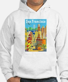 San Francisco Travel Poster 2 Hoodie