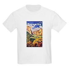 Yosemite Travel Poster 2 T-Shirt