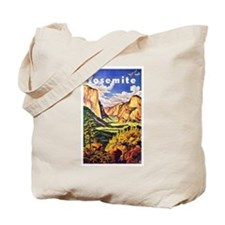 Yosemite Travel Poster 2 Tote Bag