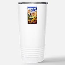 Yosemite Travel Poster 2 Travel Mug