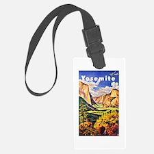 Yosemite Travel Poster 2 Luggage Tag