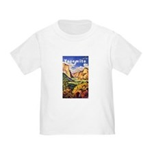 Yosemite Travel Poster 2 T